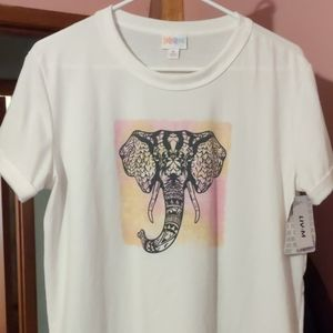Lularoe Elephant Liv NWT Medium